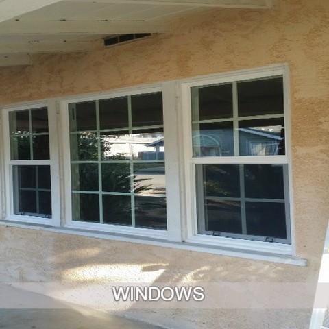 double panel windows