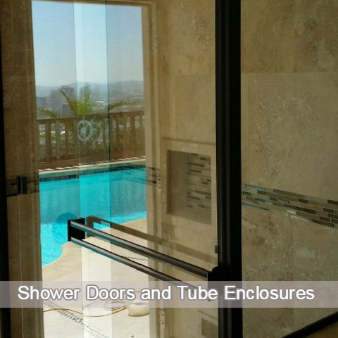 shower doors and tube enclosures
